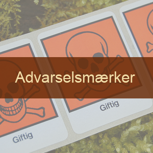 Advarselsmærker